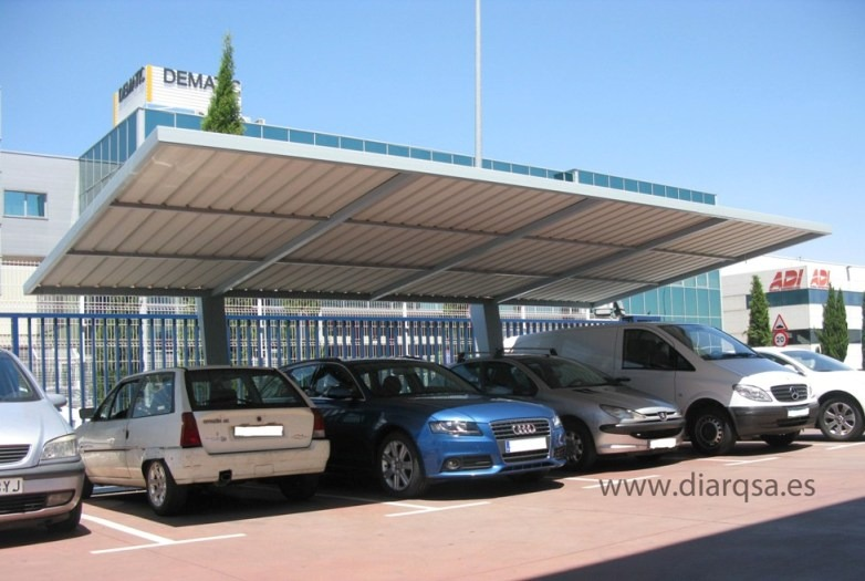 Carport para coches en Madrid